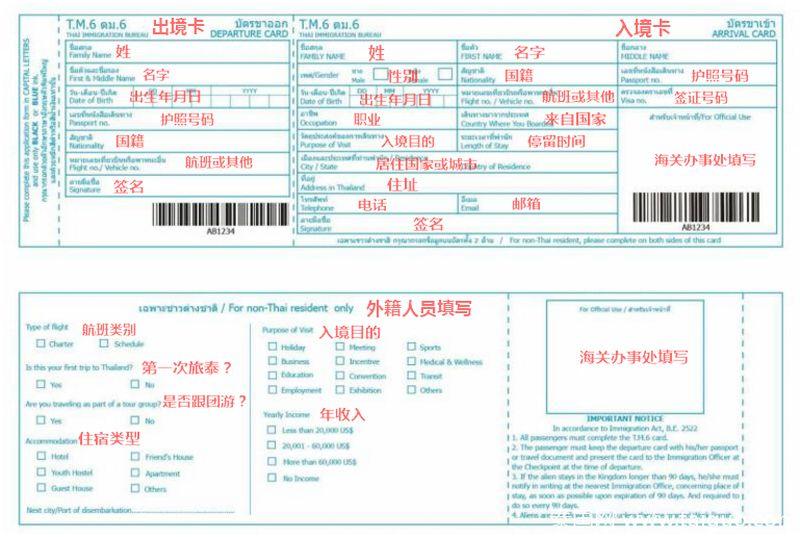 出入境泰國10月1日起簡化新卡上路 新聞 泰好網